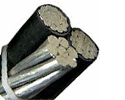 250FT RUNCINA 2/0 AWG 2C + 2/0 ACSR AWG Neutral XLP Aluminum Triplex Service Drop