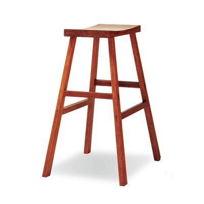 - 30 in. Holly Bamboo Bar Stool in Caramelized Finish - Set of 2
