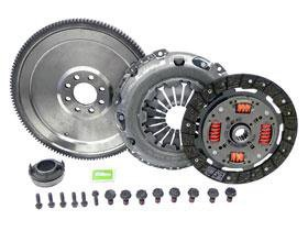 (BMW Mini (02-06 ) 'S' ) SOLID Flywheel Conversion KIT dual mass replacement)