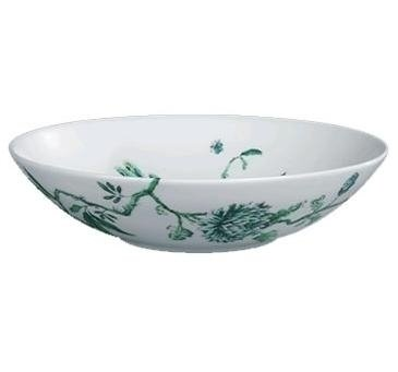 Chinoiserie White Coupe Soup Bowl