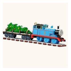 Amazon Com Hallmark 2008 Thomas Tank Engine Ornament On Track