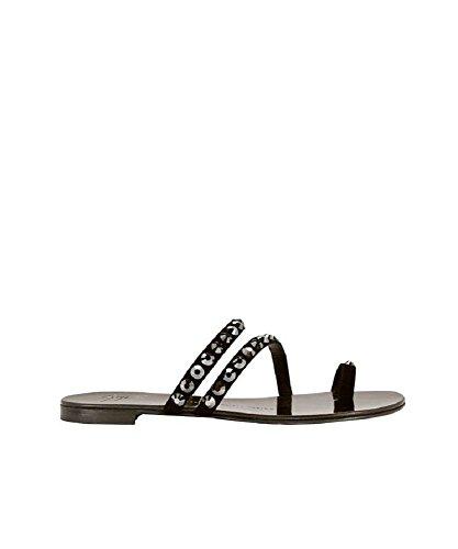 Giuseppe Zanotti Nuvo Rock Diamond Flat Sandals (Giuseppe Zanotti Wedding Shoes)