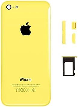 Coque Arrière avec Châssis pour iPhone 5C Jaune: Amazon.fr: High-tech
