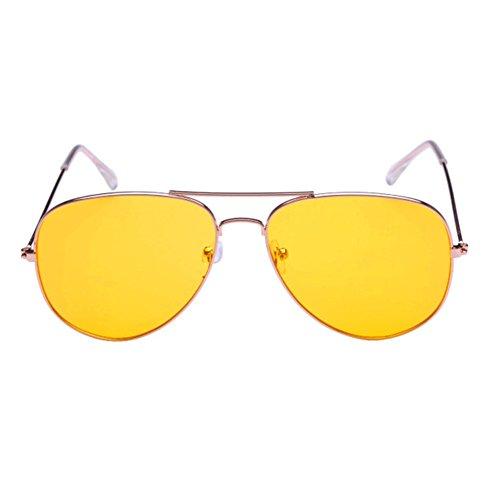 KaiSasi Womens Classic Retro Sunglasses Metal Sunglasses Night-vision Goggles - Sunglasses Costa Bass Pro