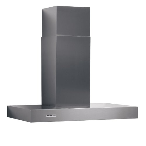 Broan RM534204 Elite Wall-Mounted Chimney Hood, Stainless Steel Hood with Internal Blower for Kitchen, 7.0 Sones, 370 CFM, 42""