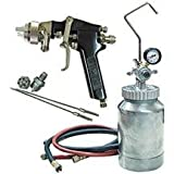 Spray Gun Kit With 2 Qt Pressure Pot-2pack