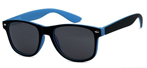 Kids Childrens 80's Classic Retro Sunglasses - Variety of styles and colors (Two Tone, - Cruise Tom Glasses