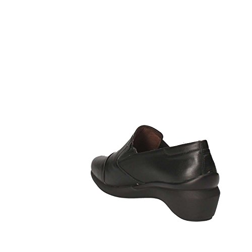 Stonefly Femme Mocassin Avec Wedge Noir 109246 Chaussures En Cuir Hiver 2017 2018, Eu 39