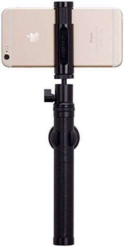 Luxe Elite Bluetooth Remote Shutter Selfie Pod 20 Black MOMAX Wireless Selfie Stick