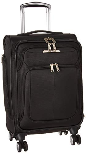 (Samsonite Carry On, Midnight Black)