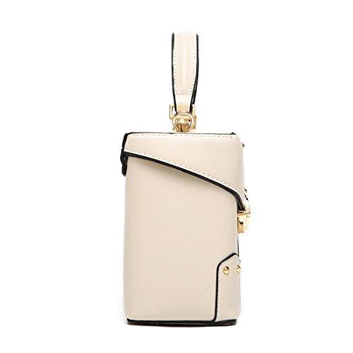 de elegante de bolso mano MinottaUSD6074 Sintético Mujer Marfil Minotta 4XqSgZ6