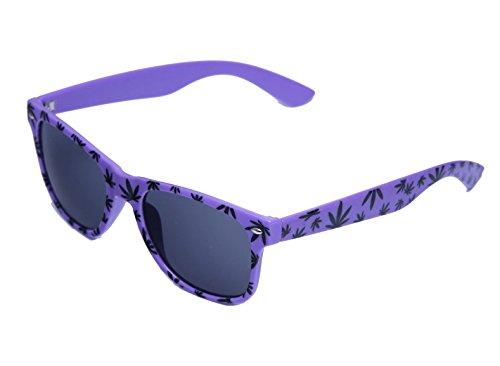 MFAZ Ltd White Soleil Purple Rétro De Weed Homme Black Ganja Femme Morefaz Style Lunettes UNISEX 76cPUzFwqW