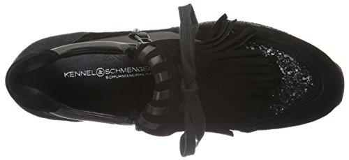 Kennel und Schmenger Schuhmanufaktur Women's Cat Trainers Black (Schwarz Sohle Glitter 480) outlet reliable E5kh5qVfQV