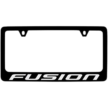 Amazon Com Ford Fusion License Plate Frame Automotive