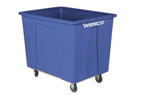 Wesco Industrial Products 272524 160 Gallon 20 Bushels Plastic Box Truck, 5