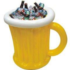 Jumbo Beer Mug Inflatable Cooler