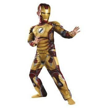Marvel Iron Man 3 Iron Man Mark 42 Boy's Halloween Costume (SMALL)]()