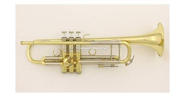 Bach AB190 fangal Stradivarius serie (Laquer) de la trompeta: Amazon.es: Instrumentos musicales