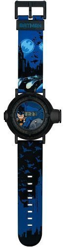 Batman Projection Watch with Push Button & Twist Dial, Project 10 Pictures! by Accutime Watch Corp.