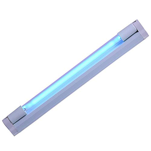 whiteswan 220V 8W Germicidal Lamp UV Ozone Double Efficient Sterilization Disinfection Ultraviolet Light Bar Strip for Home Kitchen Cabinet TV Backlight and More