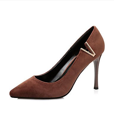 3 cn35 Black Casual Brown us5 black Spring eu36 5 Women's Ruby 3in Slingback uk3 ggx Heels Slingback LvYuan PU 3 5 Gray 4in xF46Bgw