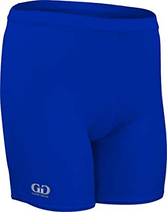 """HT211 Men's and Women's 5"""" Compression Form Fitting Athletic Sports Short (XXX-Large, Royal)"""