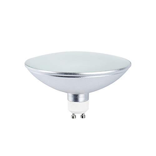 - Luxvista AR111 ES111 GU10 LED Spot Lights Bulb - 12W GU10 Base Track Light 100W R111 Halogen Raplacement Bulb for GU10 Reflector Ceiling Light Recessed Light Bulb 120V Daylight 6000K (1-Pack)