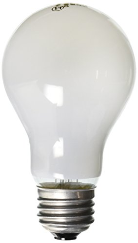 Westinghouse 0410000, 25 Watt, 130 Volt Frost Incand A19 Light Bulb, 5000 Hour 205 Lumen, 4-Pack