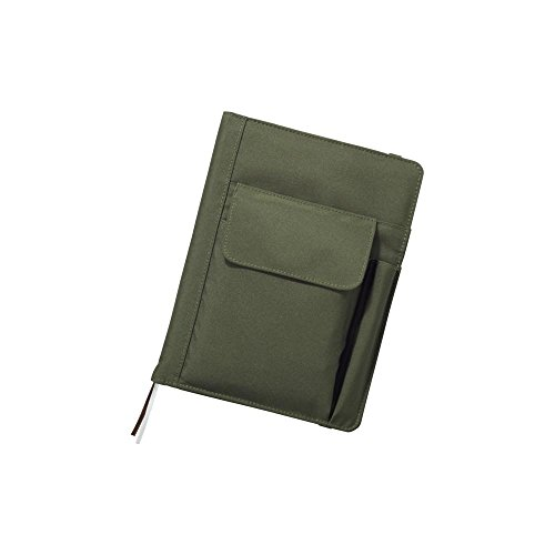 LIHIT LAB. Refillable Notebook with Cover, 7.2 x 9.6 x 1.5 i
