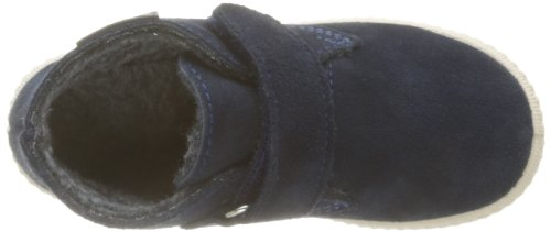 Victoria Safari Serraje Velcro - Zapatillas de Deporte de cuero Infantil azul - Bleu (Marino)