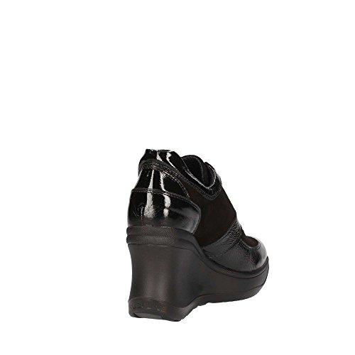 Agile by Rucoline Luxor Black Suede 1800 eine Neue Kollektion Herbst Winter 2017 2018 Schwarz