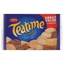 Crawford's Teatime Varieties Biscuits -