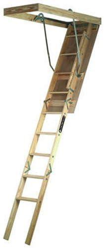 Louisville escalera 250-pound deber calificación madera ático escalera, S224P: Amazon.es: Bricolaje y herramientas