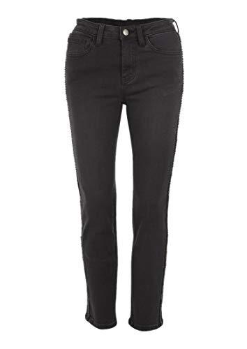 Nero Black Ribbon Donna Jeans Per Naf CYBxqwWAX