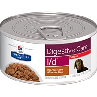 Hill's Prescription Diet I/D Canine - Stress - Rice/Vegetable/Chicken Stew - 5.5 oz - 24 ct by Hill's Pet Nutrition