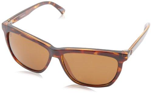 Electric Watts ES11910643 Polarized Square Sunglasses,Tortoise Shell,58 mm