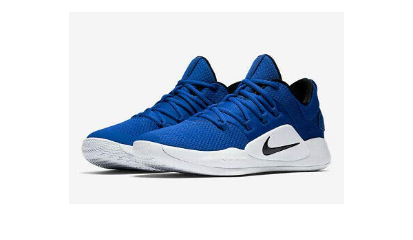 royal blue and white basketball shoes