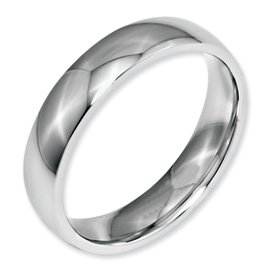 Bridal Stainless Steel 5mm Polished Band