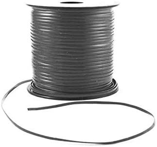 Grey Plastic Craft Lace Lanyard Gimp String Bulk 100 Yard Roll