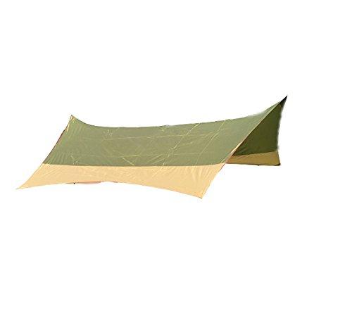 GXWFUI Tente De Plage avec, Portable Extérieur Pare-Soleil Auvent De Camping Abri Soleil Inclus Bâtons, 4.2 X 4 M pour Le Camping, Randonnée, Pêche, Plage, Pique