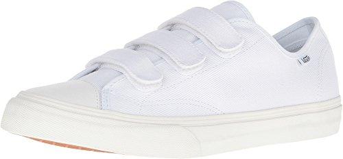 Vans Women's Shoes Prison Issue True White/Off White (Twill) Fashion Sneaker (4.5 men/ 6 women)