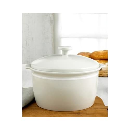 Emeril Professional Covered Casserole 5-Quart Capacity, Adobe Clay