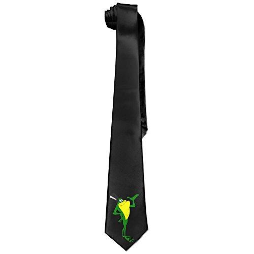Michigan J Frog Cool Necktie For Men (Adam & Eve Costume)