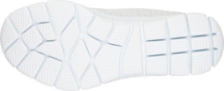 Skechers Sport Ocean View zapatilla de deporte de moda blanco/verde menta