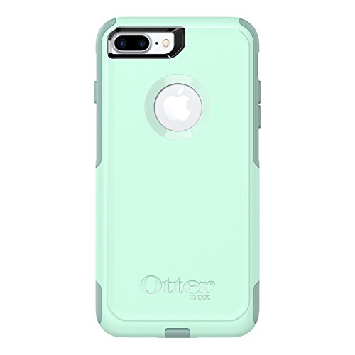 OtterBox COMMUTER SERIES Case for  iPhone 8 Plus & iPhone 7 Plus (ONLY) - Retail Packaging - OCEAN WAY (AQUA SAIL/AQUIFER) ()