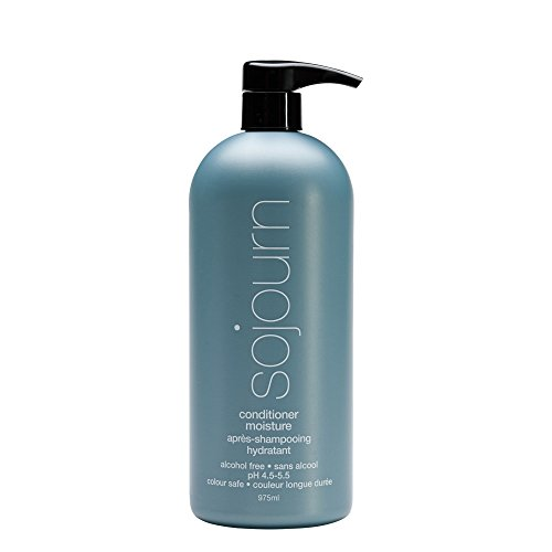 Sojourn Moisture Conditioner Hydrating Effect For Normal, Dry, Curly Or Thick Hair, (975ml or 33 fl oz) Color Safe, Professional Salon Recommended (Products Abba Hair Conditioner)