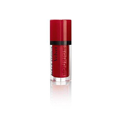 ルージュ版のベルベットの口紅、赤い旋回運動の8ミリリットル (Bourjois) (x 4) - Bourjois Rouge Edition Velvet Lipstick, Red Volution 8ml (Pack of 4) [並行輸入品] B01LYXDBO4