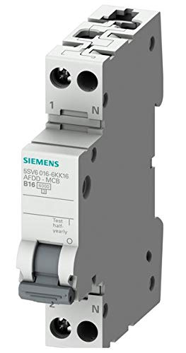 Siemens 5SV13166KK16 FI-Schutzschalter//Leitungsschutzschalter 2polig 16A 0.03A 230V