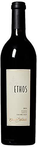 2013 Chateau Ste. Michelle Ethos Reserve Merlot Wine 750 mL - Reserve Merlot Red Wine