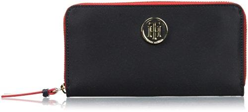 Tommy Hilfiger Womens Poppy Lrg Za Wallet Wallet Black (Black)